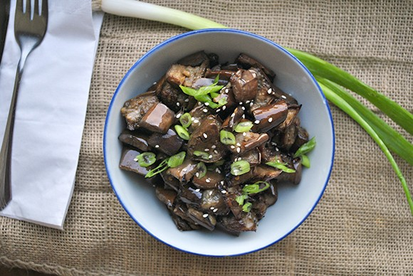 Roast Japanese Eggplant