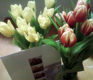 Valentine's Day Tulips 2010