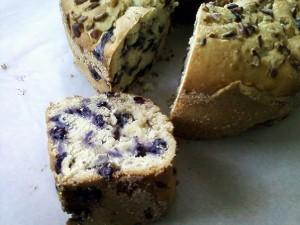 Blueberry Pecan Cake