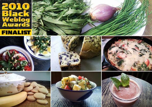 """2010 Black Weblog Finalist for """"Best Cooking and Food Blog"""""""