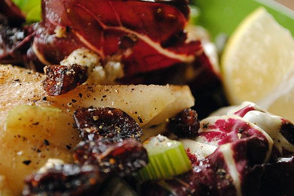 Radicchio Pear Salad