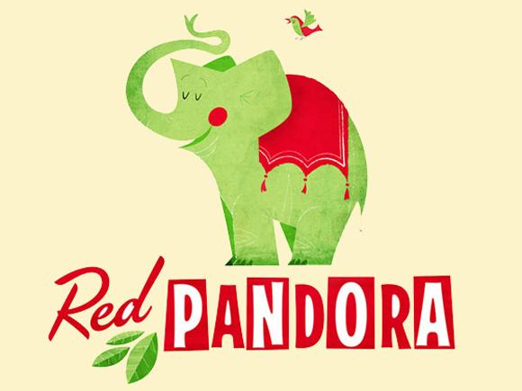 RedPandora logo