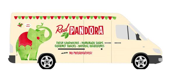 RedPandora Truck Sketch