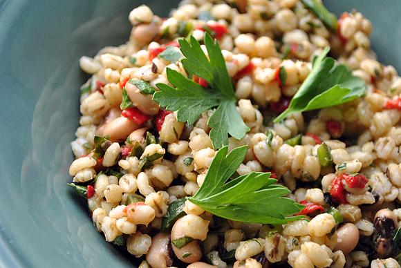 Blackeye Pea and Pearl Barley Salad