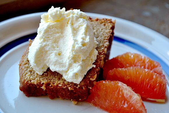 Orange Palm Sugar Cake