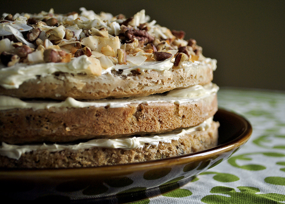 Hummingbird Cake with Mascarpone Frosting