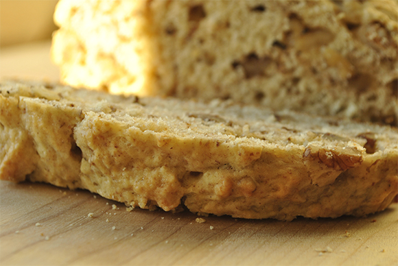Quick Buttermilk Walnut Bread