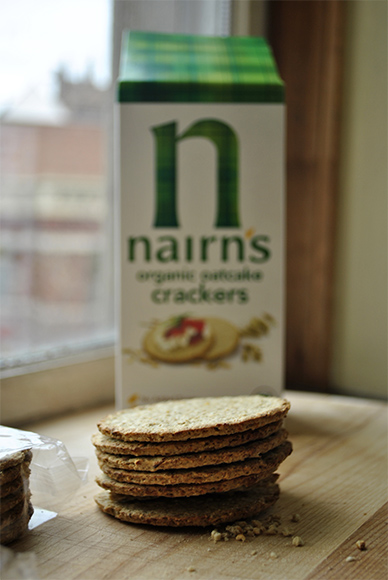 Nairn's Organic Oatcake Crackers