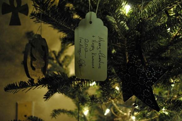 Kwanzaa Christmas Tree Ornament