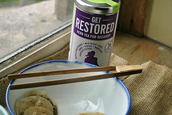 The Republic of Tea's Be Active Get Restored Tea