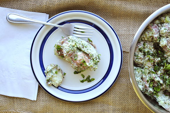 Creamy Herbal Potato Salad