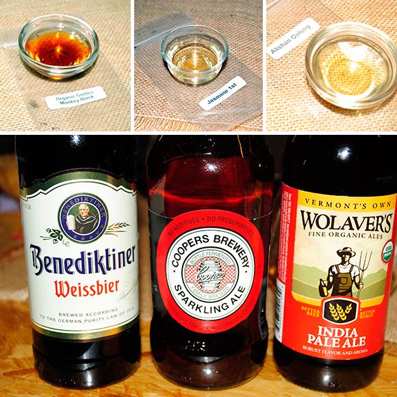 Beer and Tea Pairing
