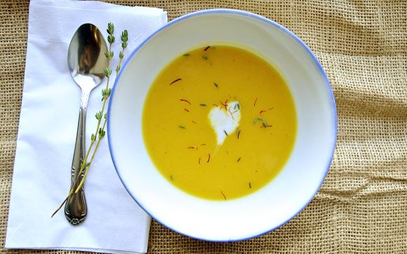 Saffron Butternut Soup