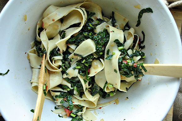 Stir-Fried Collard Greens