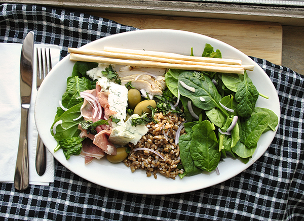Italian-Inspired Salad Plate