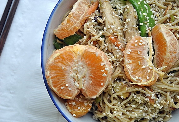 Orange Ramen Salad