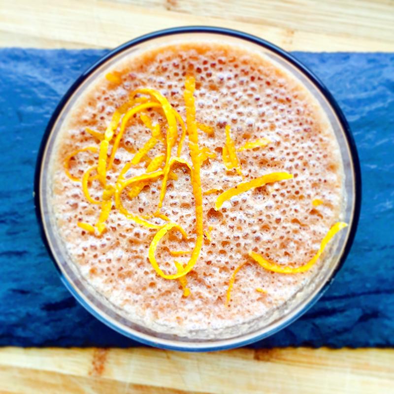 #SmoothieNumbers29: Orange Chocolate Smoothie